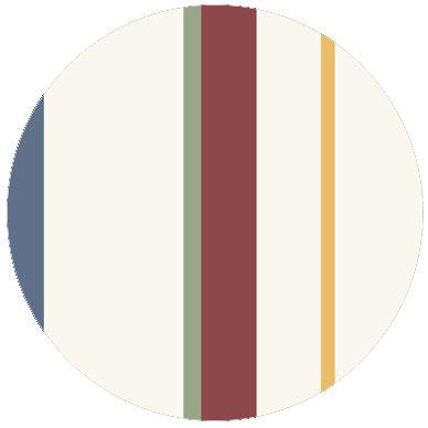 Wandgestaltung: Streifentapete mehrfarbig, Design Tapete für schönes Wohnen