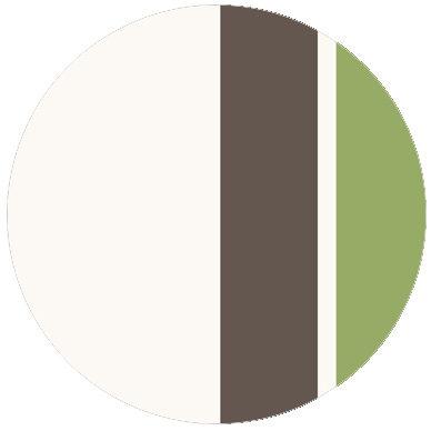 Wandgestaltung: An Ikea Farben angepasste Streifen Design Tapete Streifentapete