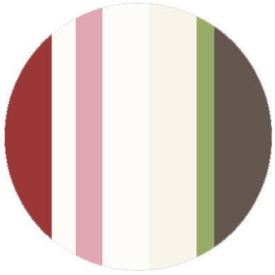 Wandgestaltung: Moderne rote Streifentapete Design Tapete für schönes Wohnen