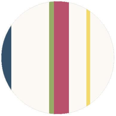 Wandgestaltung: Multicolor Streifentapete Design Tapete für schönes Wohnen