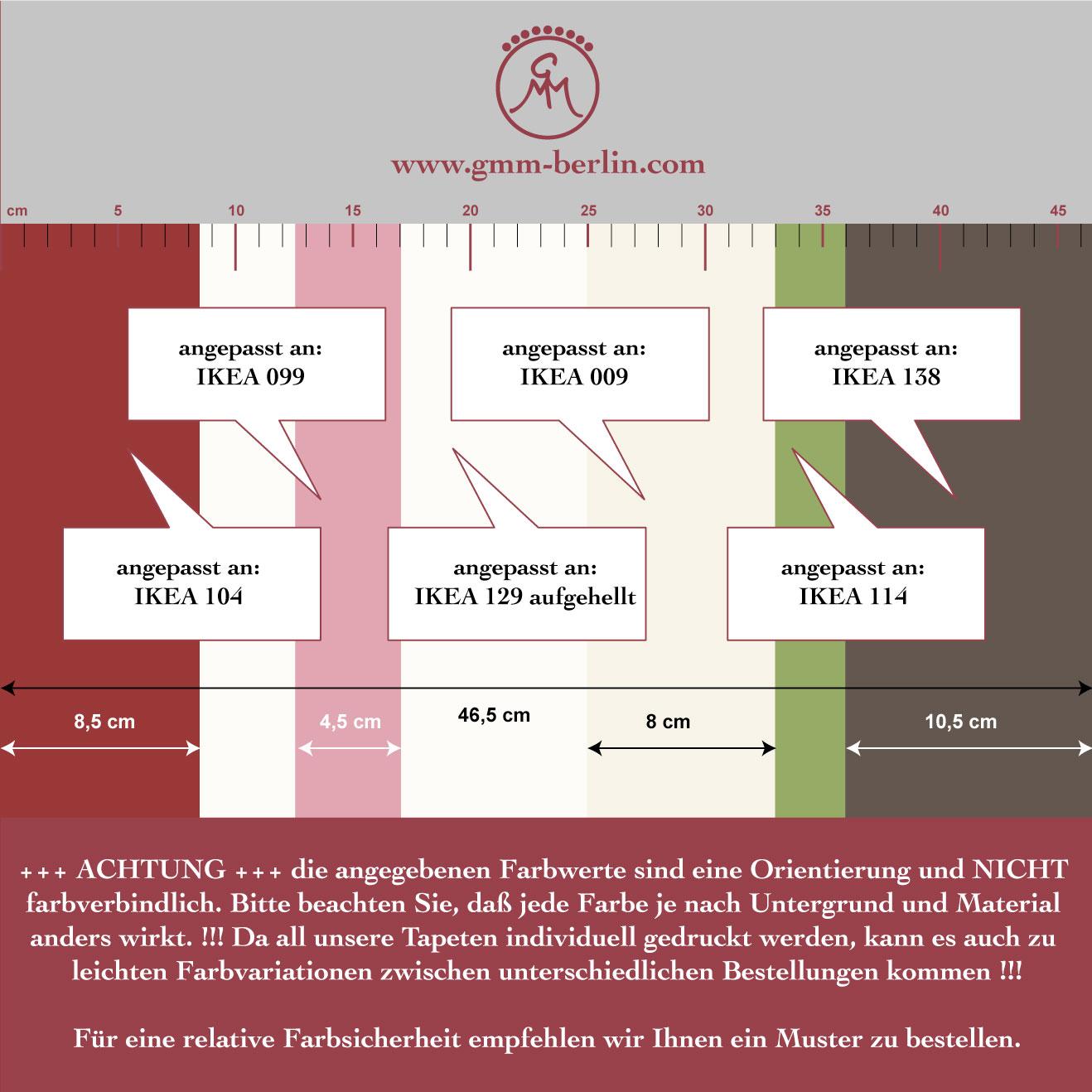 Edle Raumgestaltung mit: Moderne rote Streifentapete Design Tapete für schönes Wohnen