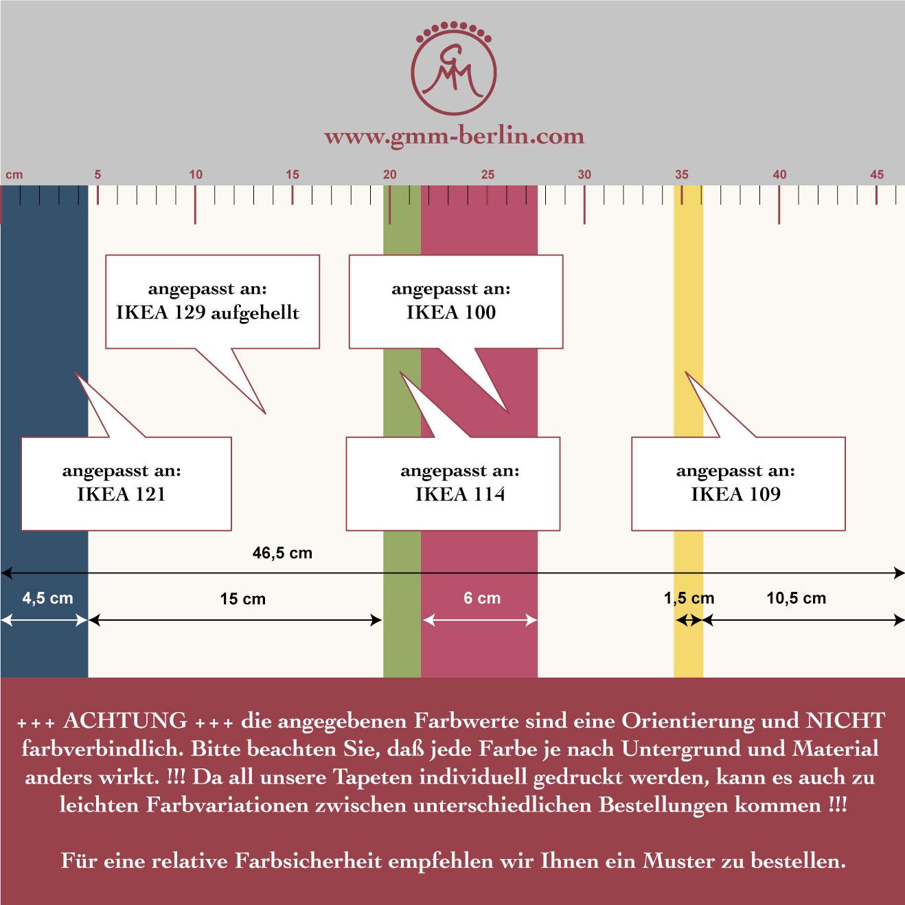 Edle Raumgestaltung mit: Multicolor Streifentapete Design Tapete für schönes Wohnen