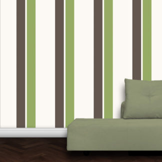 Wandtapete: An Ikea Farben angepasste Streifen Design Tapete Streifentapete