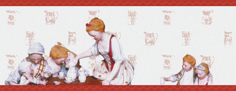 Petit Dejeuner - edle Tapetenborte auch für die Küche