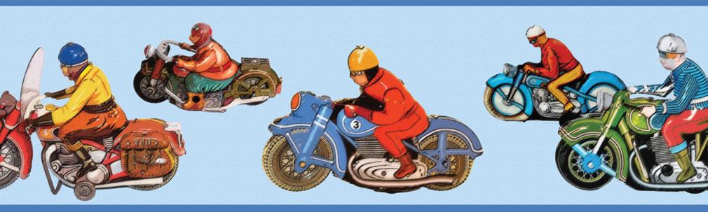 Das große Motorrad Rennen