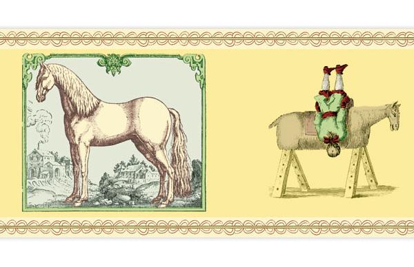 Kunst am Pferd – die Borte für Reiter
