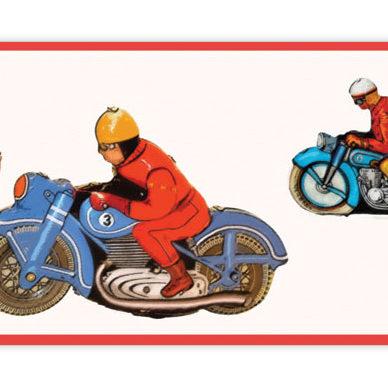 Racing - die Tapetenborte für echte Kerle und schnelle Mädchen