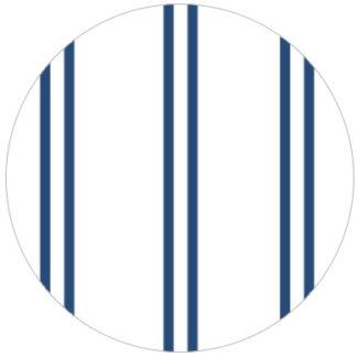Feine blau weiße Streifen Tapete