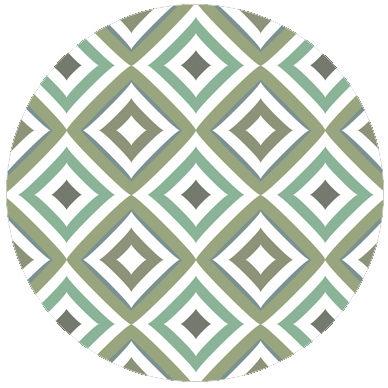 Grüne Modern Living Diamant Tapete