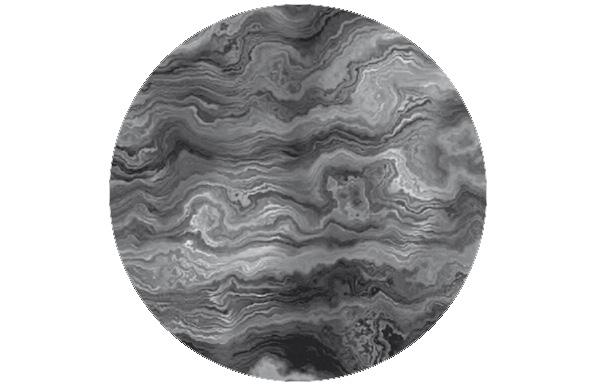Edel graue Streifen Marmor Tapete