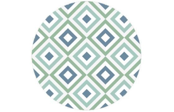 Frische square diamant Tapete grün angepasst an Ikea 80   Ikea 120