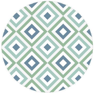 Frische square diamant Tapete grün angepasst an Ikea 80 | Ikea 120
