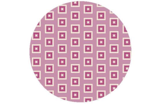 Rosa Little Square Tapete angepasst an Scala 39.12.18