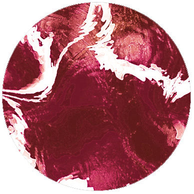 Edle Marble Art Tapete – rot