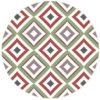 Modern living - Diamant Tapete rot grün