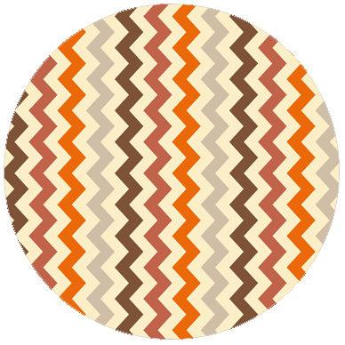 Zickzack Streifentapete bunt und individuell, passend zu Schöner Wohnen Trendfarben 1