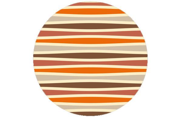 Swing Streifentapete quer, passend zu Schöner Wohnen Trendfarben