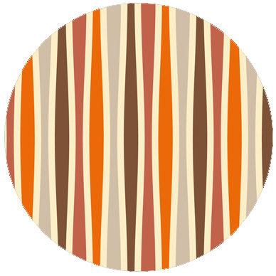 Individuelle Swing Streifentapete passend zu Schöner Wohnen Trendfarben 1