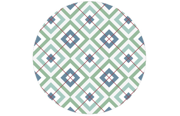 diamant gr n mit karo rot angepasst farrow ball gmm. Black Bedroom Furniture Sets. Home Design Ideas
