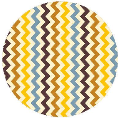 Zickzack Trend Streifen passend zu Scala Farben