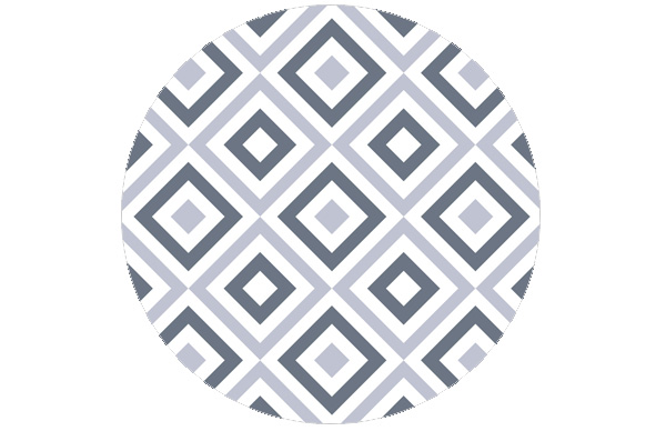 Moderne square diamants grün angepasst an Little Greene Weekend 110 | Juniper Ash 115