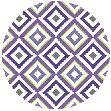 Lila Modern living Diamant Tapete als moderne Wandgestaltung
