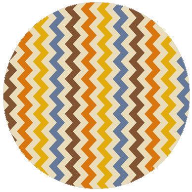 Mehr farbige Zickzack Streifen passend zu RAL Farben