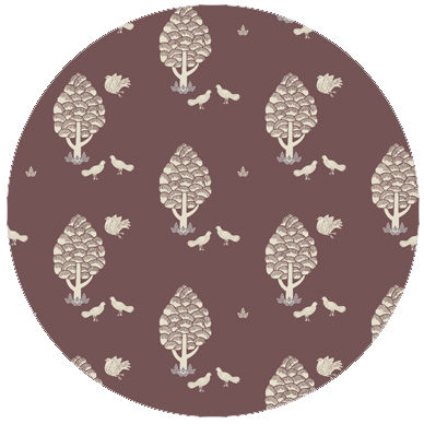 Schicke Central Park Tapete angepasst an Little Greene Adventurer 7