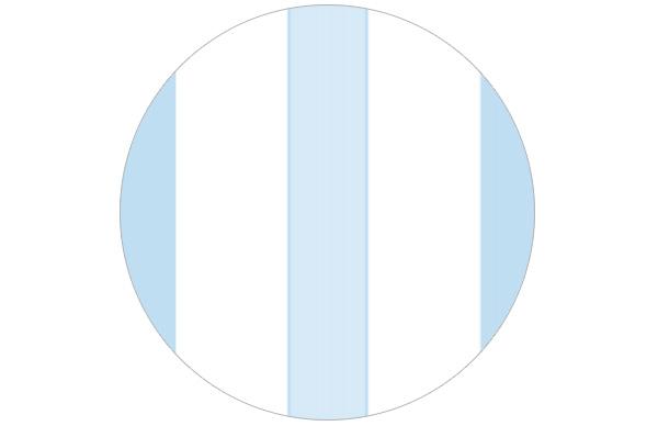 Baby blaue Streifentapete für Jungen Kinderzimmer Babyzimmer