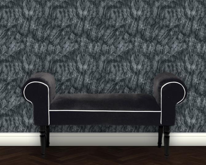 Dezent klassische Marmor Tapete – grau grün Design Vlietapete Steinoptik