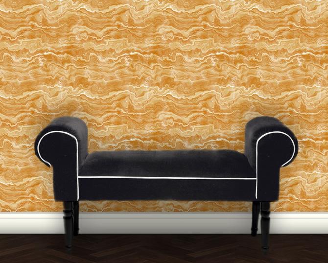 Moderne Tapete Motiv: Streifen Marmor Design Vliestapete Steinoptik