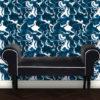 Design Tapete Marble Art – Vliestapete blau in Steinoptik