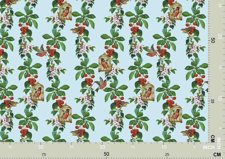 Apfelkirsche - die Tapete für Gartenfreunde 3