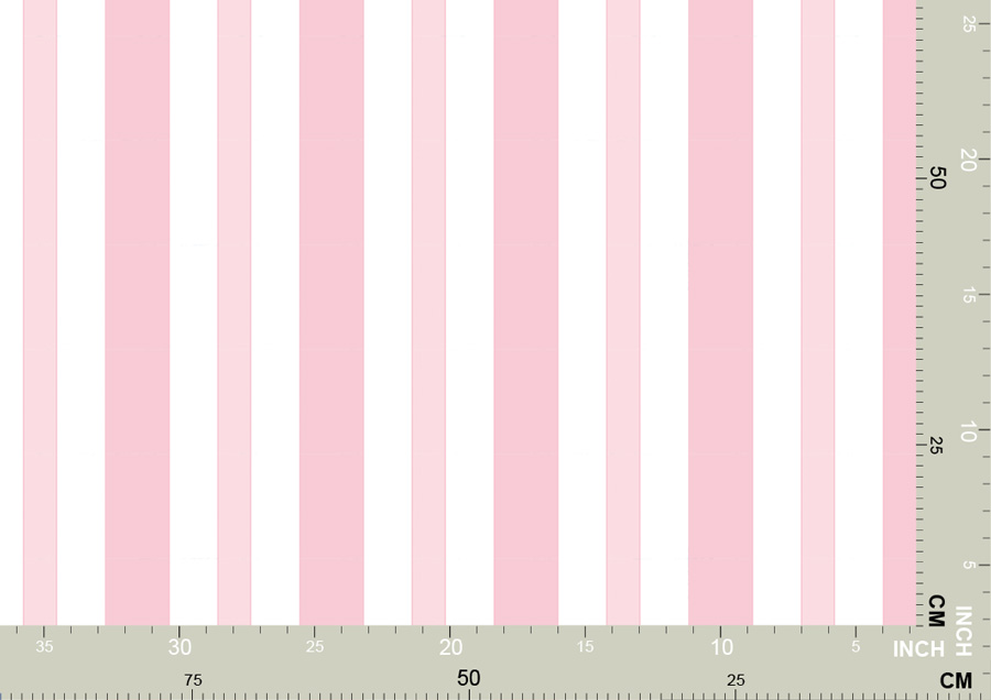Hell rosa Baby/ Kinder Streifen Tapete 3