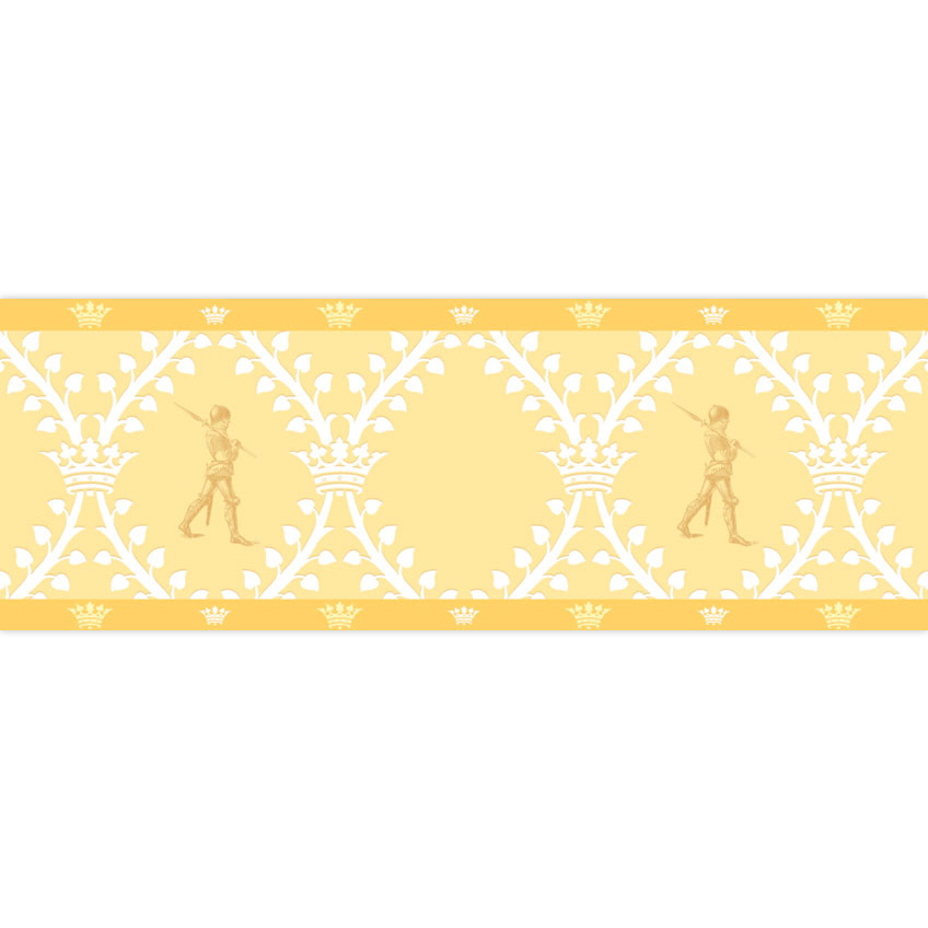 Die Wache – Kinderzimmer Borte mit Rittern 2