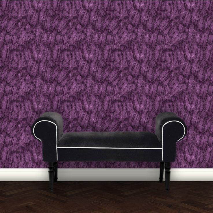 Design Klassiker Marmor Tapete – lila