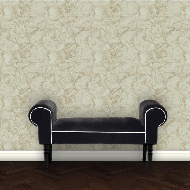 Tapete eleganter Marmor - beige