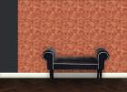 Tapete im Marmor Design – orange