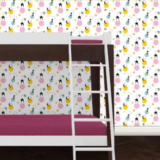 Jugendzimmer Tapete Katzen Polka