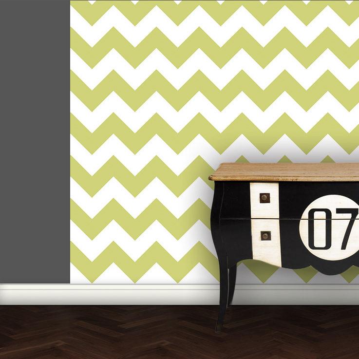 Modern living - Zack angepasst an Schöner Wohnen Trendfarbe Farn