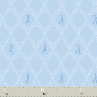 """Blaue Kinderzimmer Tapete """"Die Wache"""""""