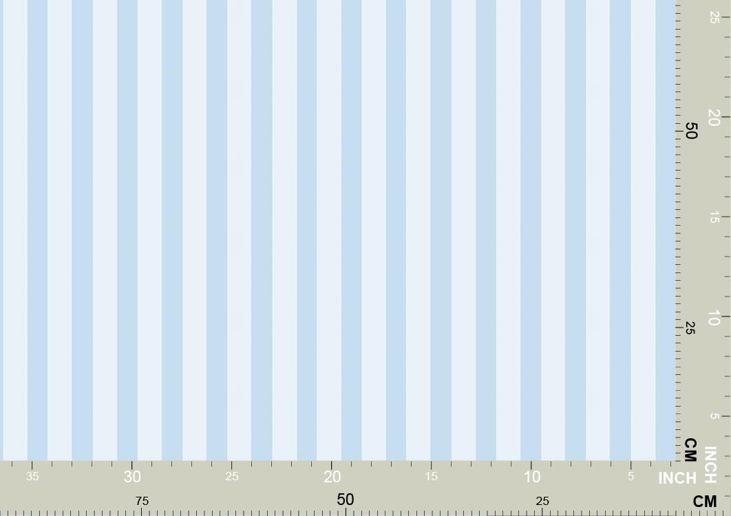 Schöne hellblaue Streifentapete 3