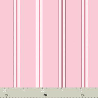 Klassische rosa Streifen