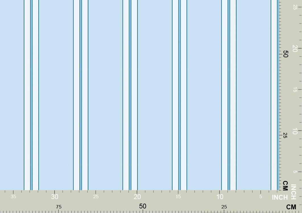 Klassische hellblaue Streifen
