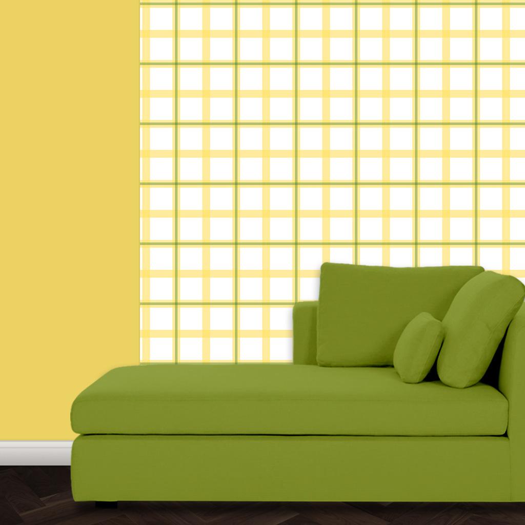 Grafische Karo Design Tapete Für Moderne Wandgestaltung