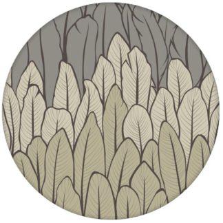 Feder Streifentapete in beige Tönen Vlies Tapete Streifen