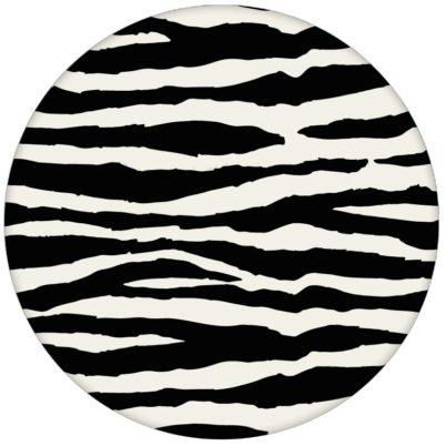 Gestreifte, Afrika Zebra Design Tapete im Fell Look Vliestapete Wandgestaltung