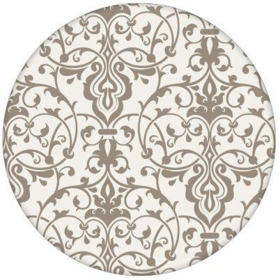 Dezent üppige Ornament Tapete mit klassischem Damast Muster auf grau Vliestapete für Wohnzimmeraus dem GMM-BERLIN.com Sortiment: beige Tapete zur Raumgestaltung: #Ambiente #Damast #floral #interior #interiordesign #LittleGreene #Nobel #ornament #Schloss #Stil #stilvoll für individuelles Interiordesign