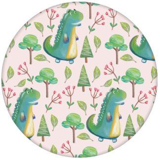 Rosa Kindertapete mit kleinen Drachen im Zauberwald Mädchen Vliestapete aus den Tapeten Neuheiten Exklusive Tapete für schönes Wohnen als Naturaltouch Luxus Vliestapete oder Basic Vliestapete
