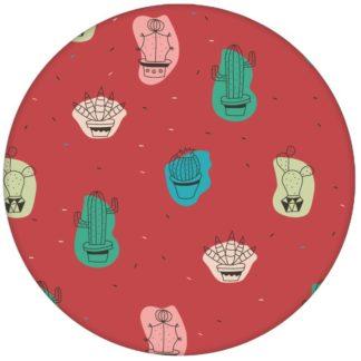 """Coole Design Tapete """"Wüstenzauber"""" mit bunten Kakteen auf rot Vliestapete Kaktus - Moderne Wandgestaltungaus dem GMM-BERLIN.com Sortiment: rote Tapete zur Raumgestaltung: #Arbeitszimmer #Firefly #frisch #Jugendzimmer #Kakteen #Kaktus #LittleGreene #modern #Pflanzen #Student #WC #WG für individuelles Interiordesign"""